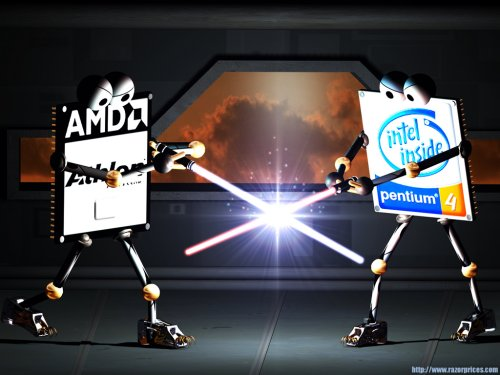 Lista Procesadores Intel y AMD de Mayor a menor rendimiento.