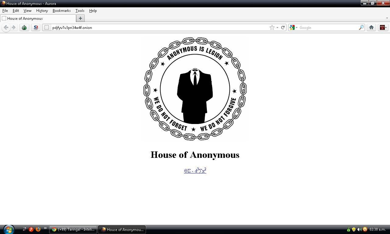Deep Web - La casa de Anonymous ?