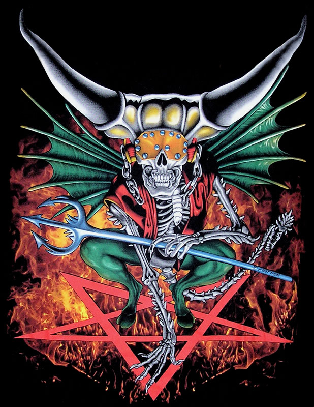 B Ddd on Megadeth Vic Rattlehead
